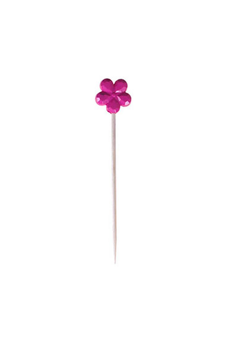 Çiçek Kürdan Renkli 8li
