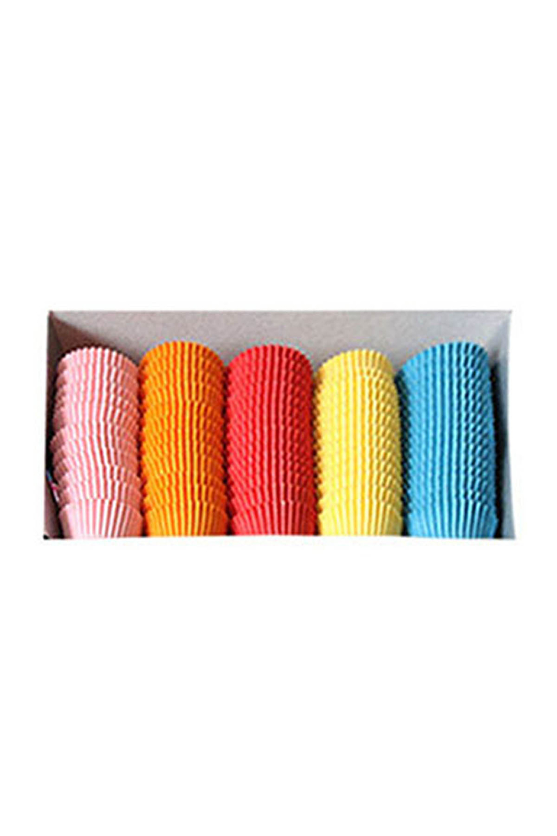 Renkli Mini Muffin Kağıdı 1000li