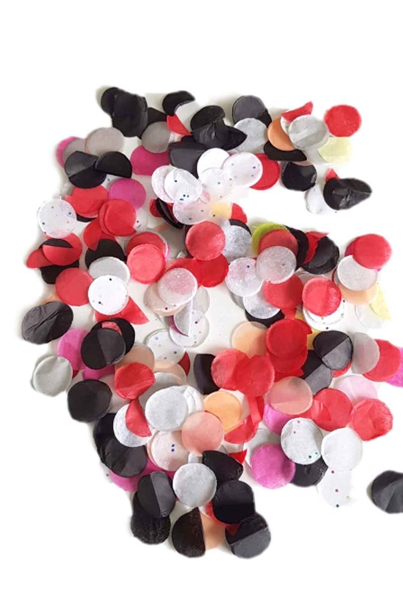 Renkli Pelür Balon Konfetisi 10gr