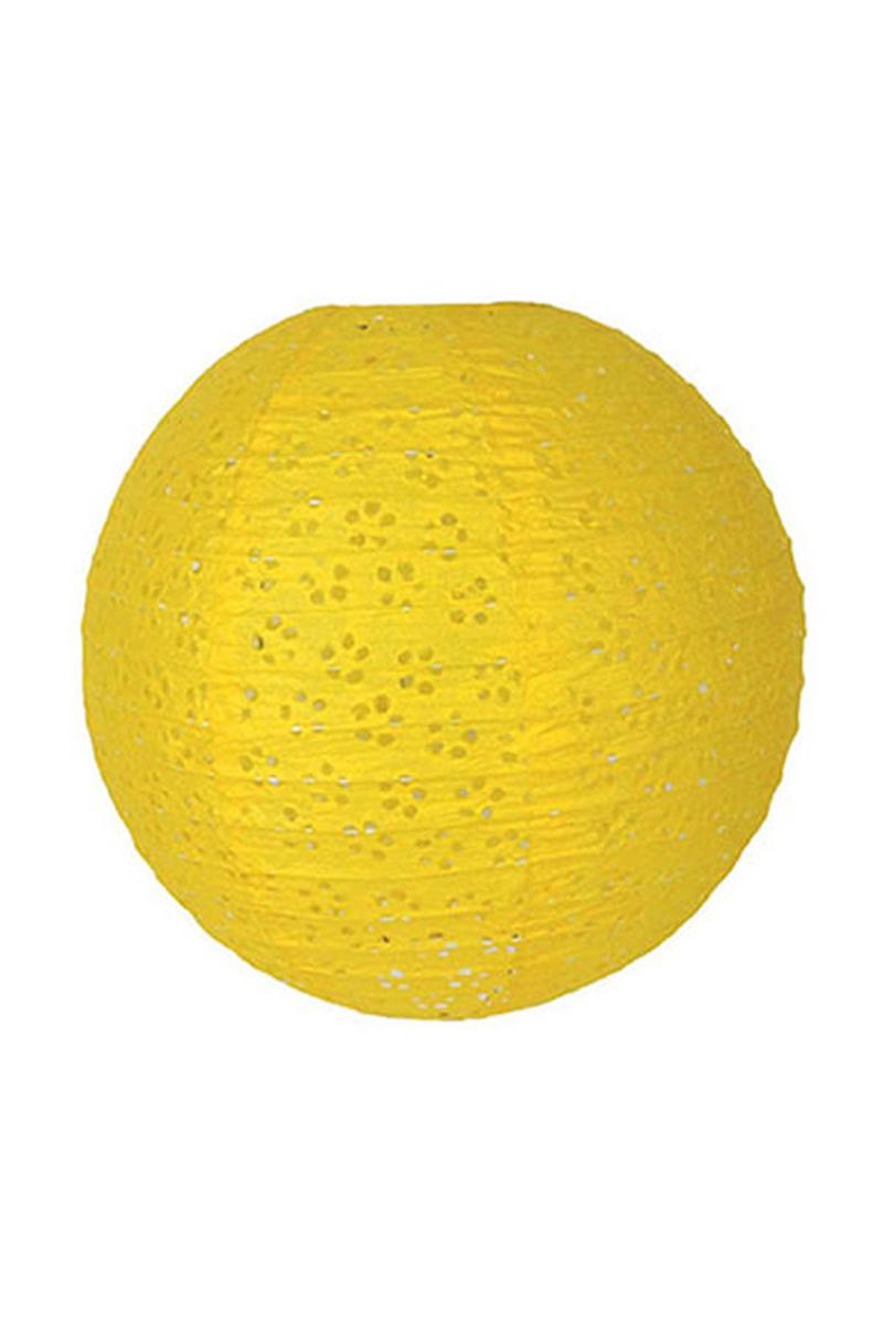 Sarı Dantel Fener 30cm 1 Adet