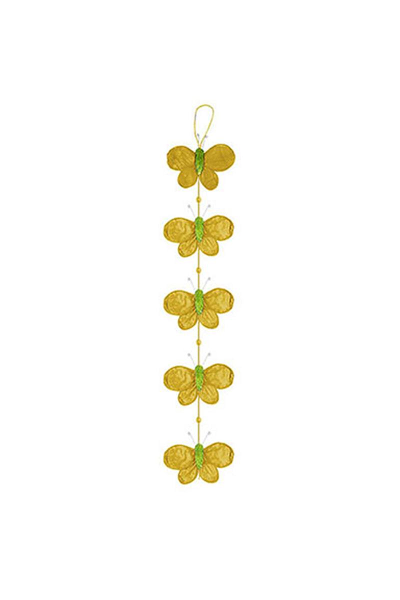 Sarı Kelebek Süs 1 Adet
