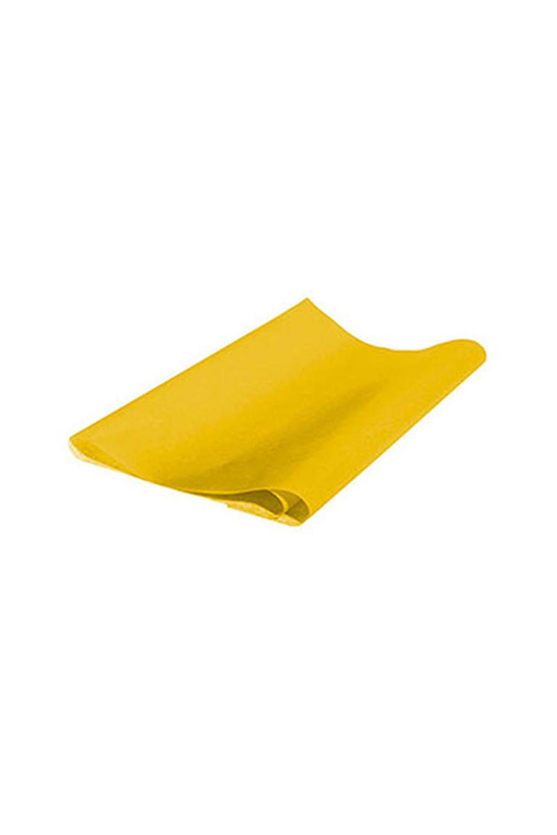Sarı Pelür Süs Kağıdı 10lu