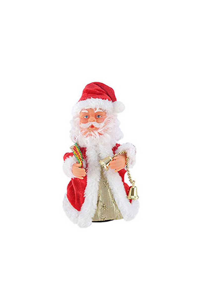 Şarkı Söyleyen Hareketli Noel Baba 15cm 1 Adet