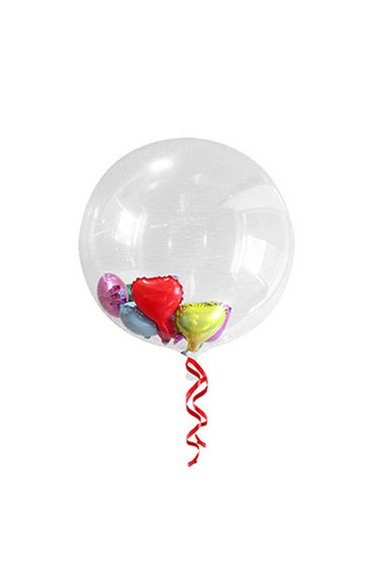 Şeffaf Balon Yuvarlak 35cm 1 Adet