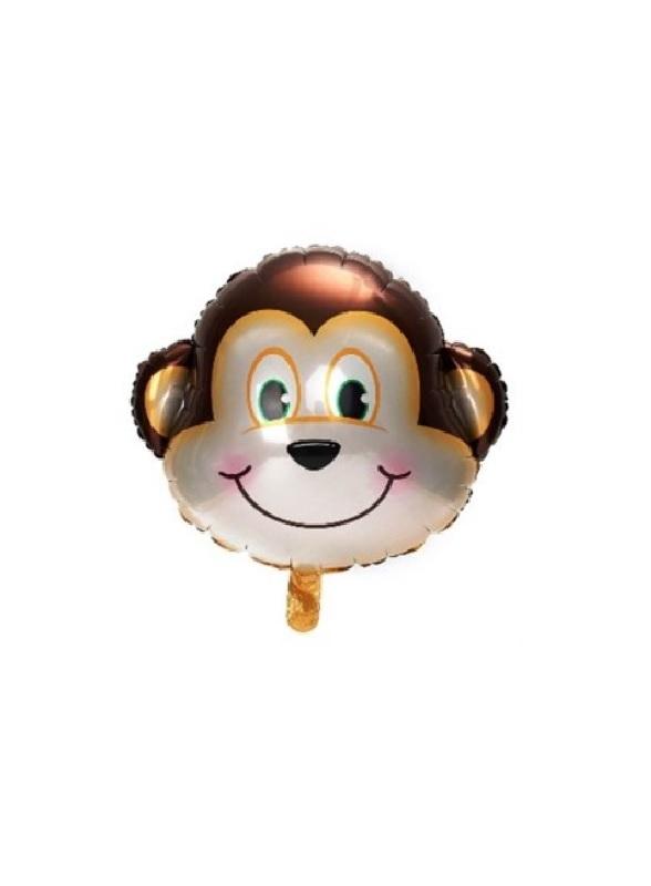 Sevimli Maymun Folyo Balon 40cm (16 inch) 1 Adet