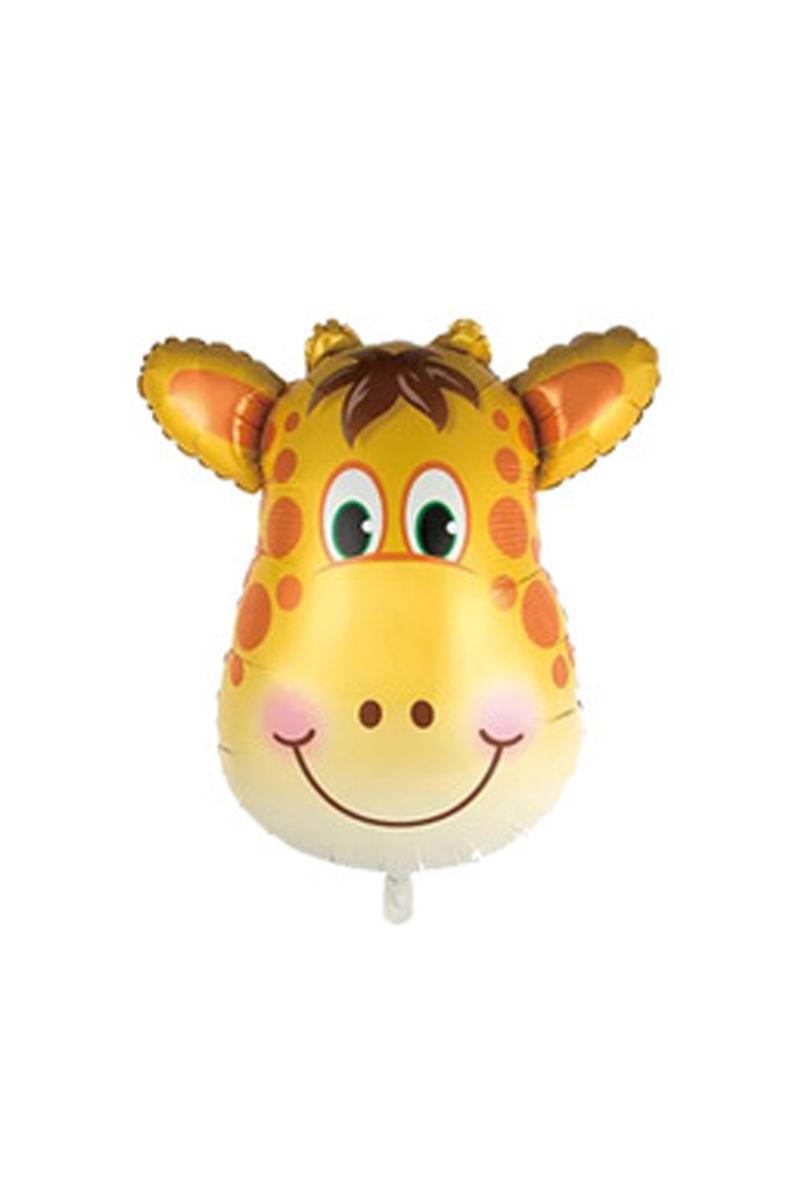 Sevimli Zürafa Folyo Balon 40cm (16 inch) 1 Adet