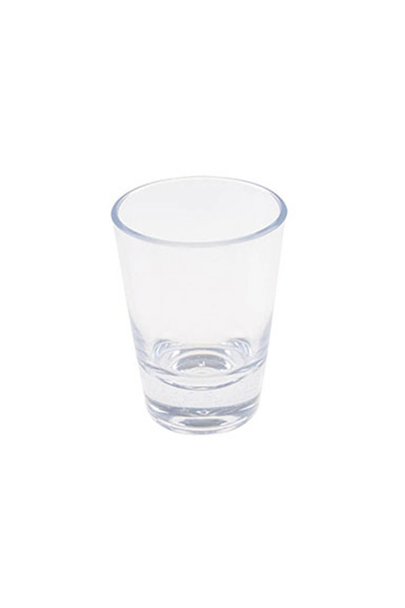 Plastik Shot Bardağı Şeffaf 60cc 8li