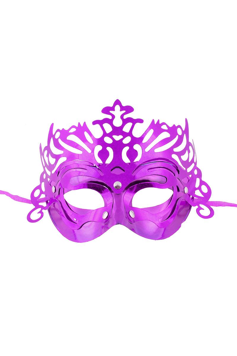 Simli Balo Maske Mor 1 Adet