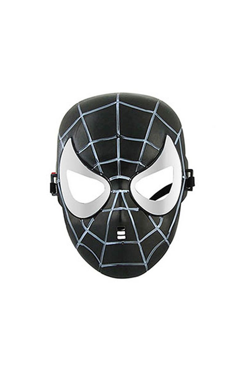 Siyah Spiderman Maske 1 Adet
