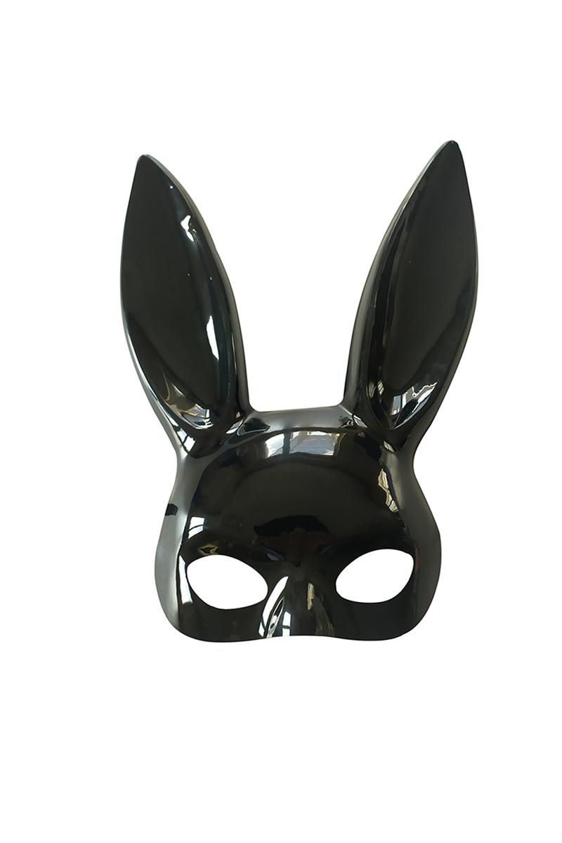 Siyah Tavşan Maske 1 Adet