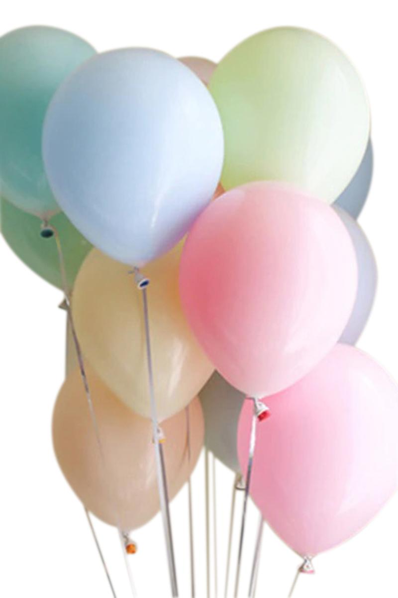 Pastel Renkler Lateks Balon 30cm (12 inch) 10lu
