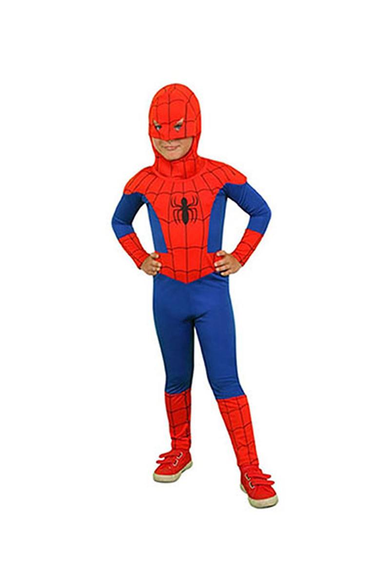 Spiderman Kostüm 2-3 Yaş 1 Adet - Thumbnail