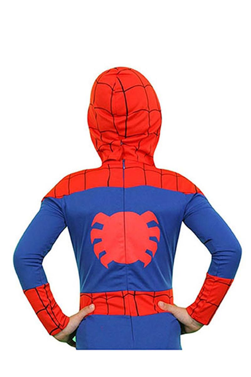 Spiderman Kostüm 4-6 Yaş 1 Adet - Thumbnail