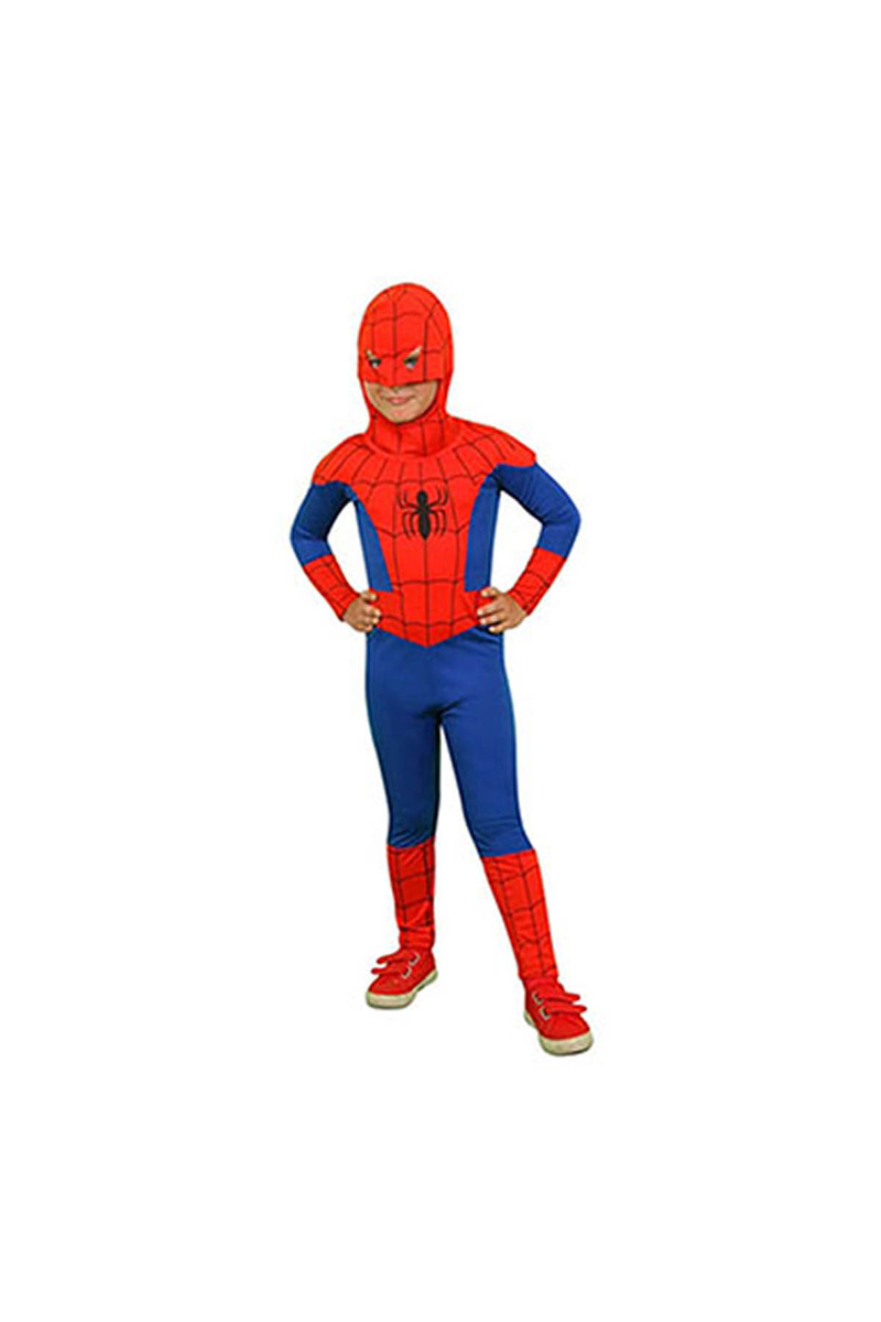 Spiderman Kostüm 7-9 Yaş 1 Adet