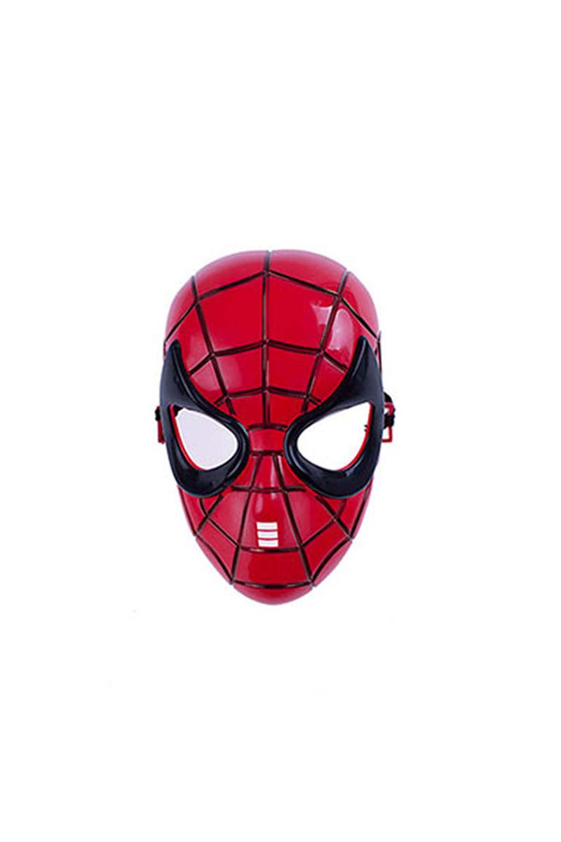 Spiderman Maske Kırmızı Siyah 1 Adet