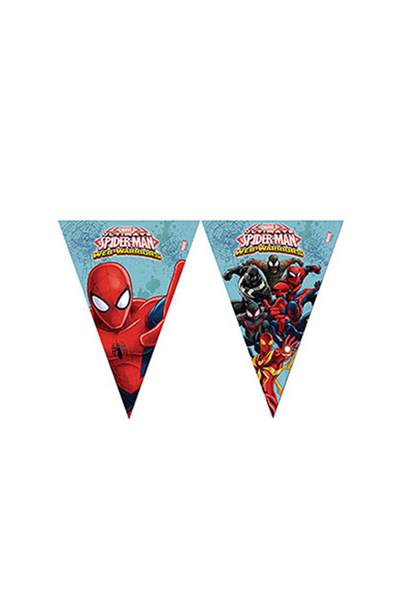 Spiderman Savaşçı Bayrak Afiş 1 Adet