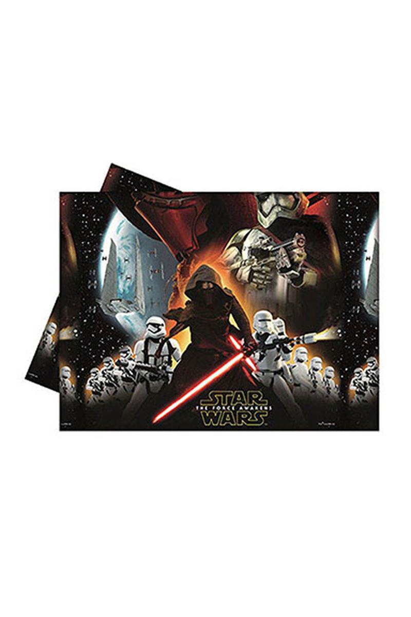 Star Wars Güç Uyanıyor Plastik Masa Örtüsü 120x180cm 1 Adet