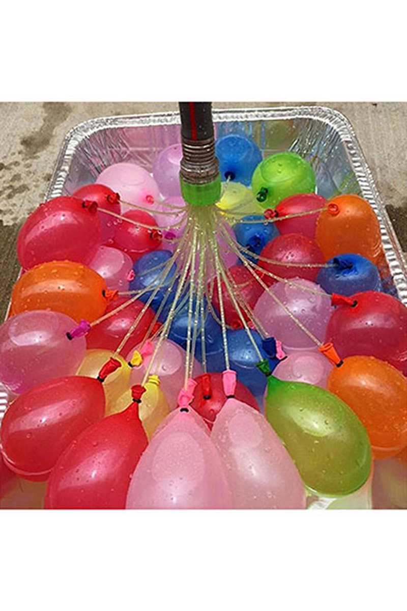 Su Balonu Sihirbazı (111 Adet Balon)