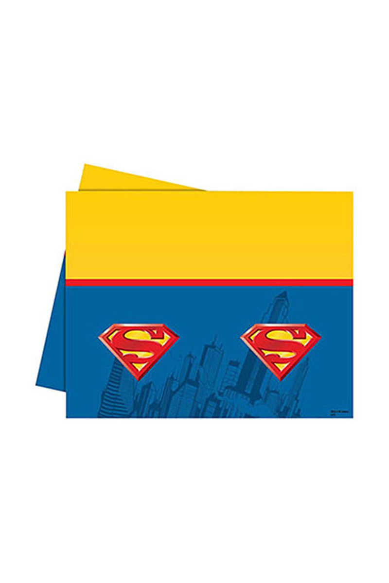 Superman Plastik Masa Örtüsü 120x180cm 1 Adet