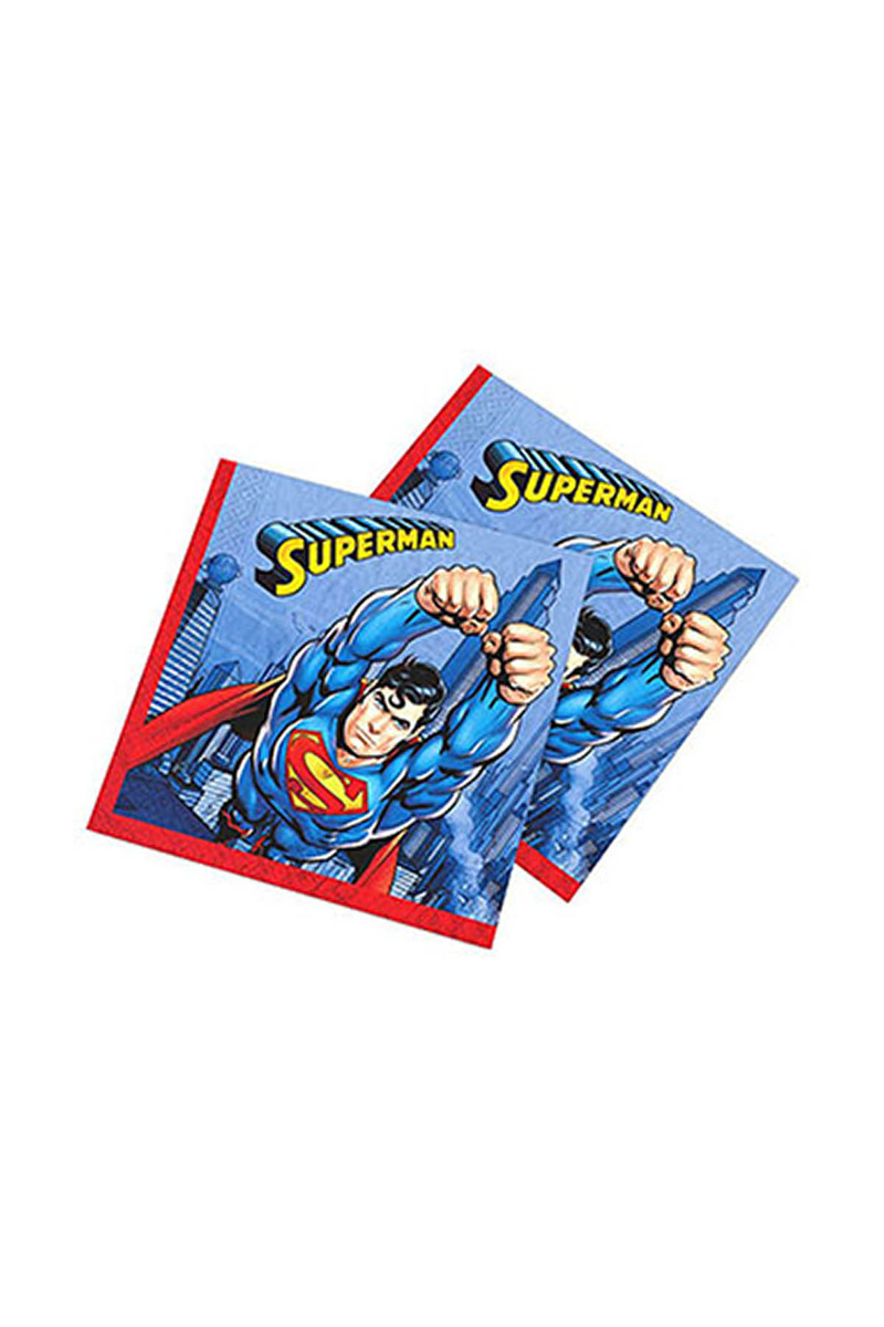 Superman Kağıt Peçete 33x33cm 16lı
