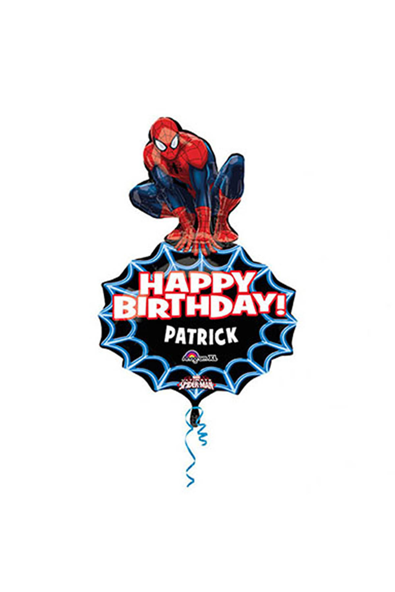 SpiderMan SuperShape Folyo Balon 83cm 12li