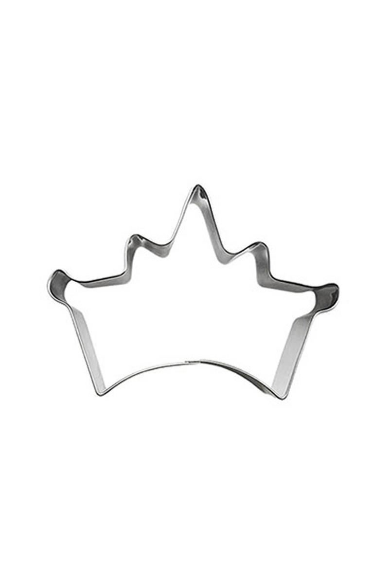 Kral Tacı Metal Kurabiye Kalıbı 1 Adet
