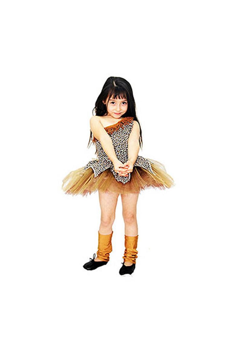 Tarzan & Ceyn Çocuk Kostümü 5-6 Yaş 1 Adet
