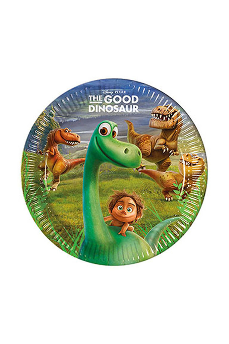 The Good Dinosaur Kağıt Tabak 23cm 8li