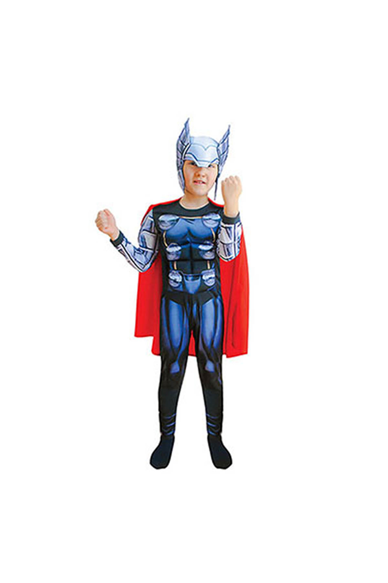 Thor Çocuk Kostüm 7-9 Yaş 1 Adet