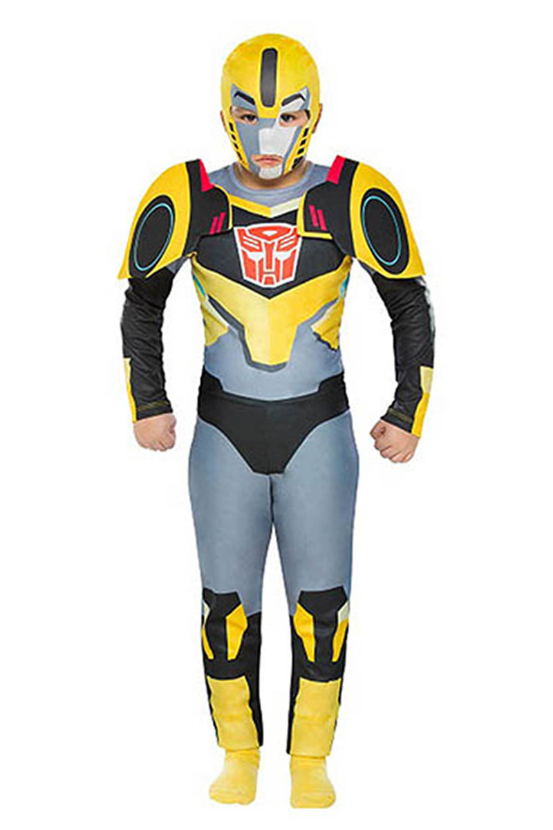 Transformers Bumblebee Çocuk Kostüm 2-3 Yaş 1 Adet