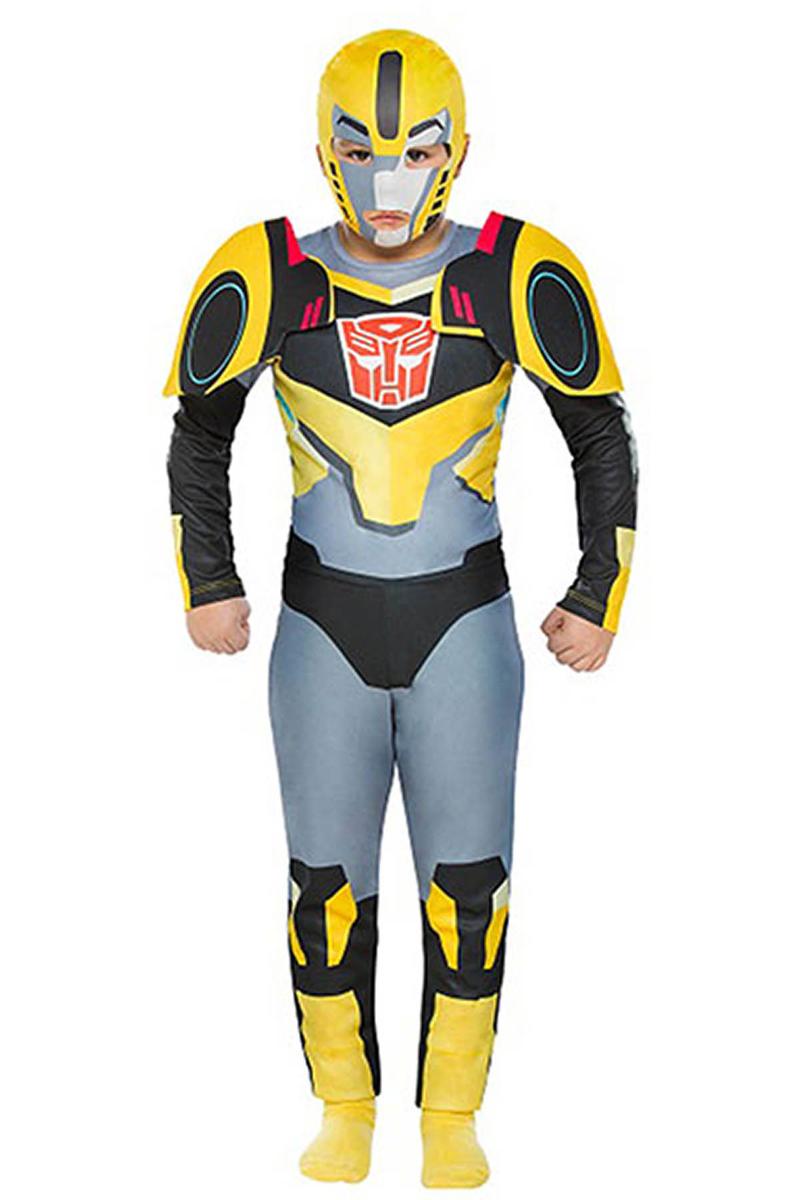 Transformers Bumblebee Çocuk Kostüm 4-6 Yaş 1 Adet