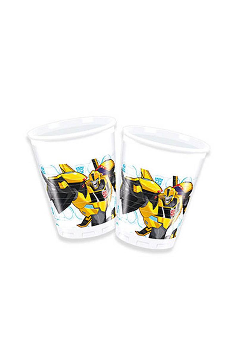 Transformers Plastik Bardak 200cc-8oz 8li