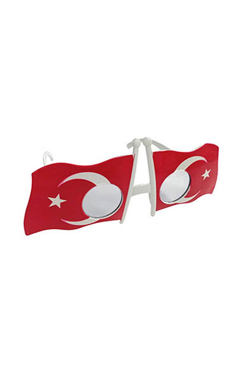 Türk Bayrağı Gözlük 1 Adet
