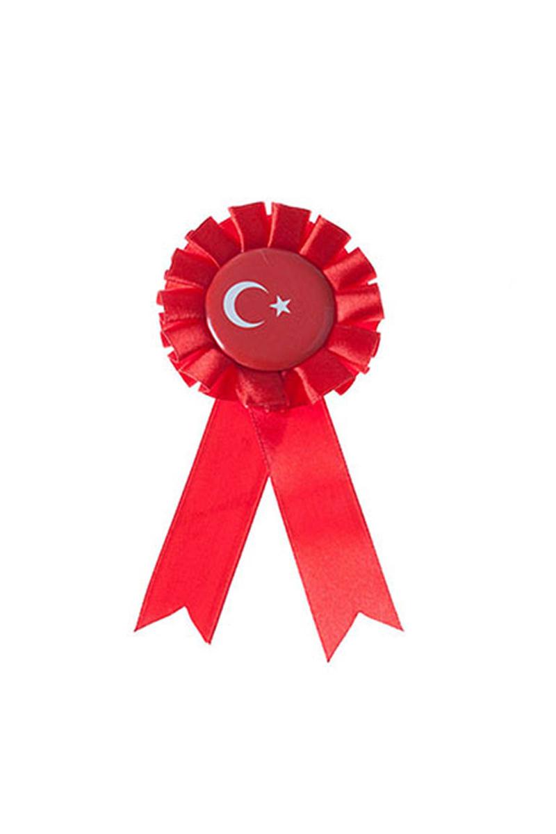 Türk Bayrağı Rozet 1 Adet