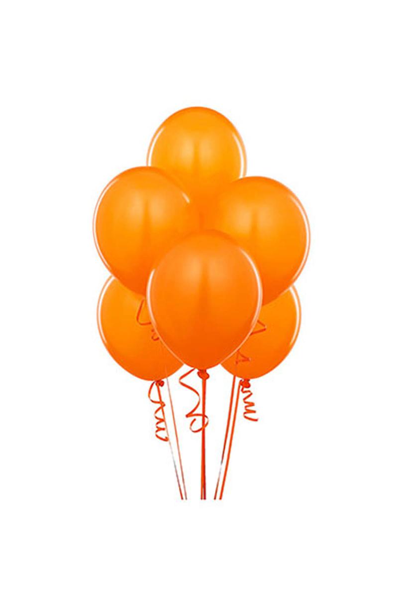 Turuncu Lateks Balon 30cm (12 inch) 10lu