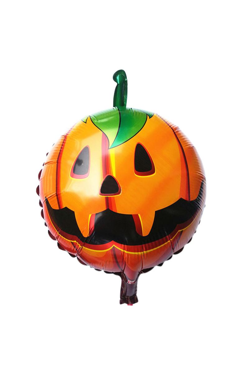 Balkabağı Halloween Folyo Balon 43x43cm 1 Adet
