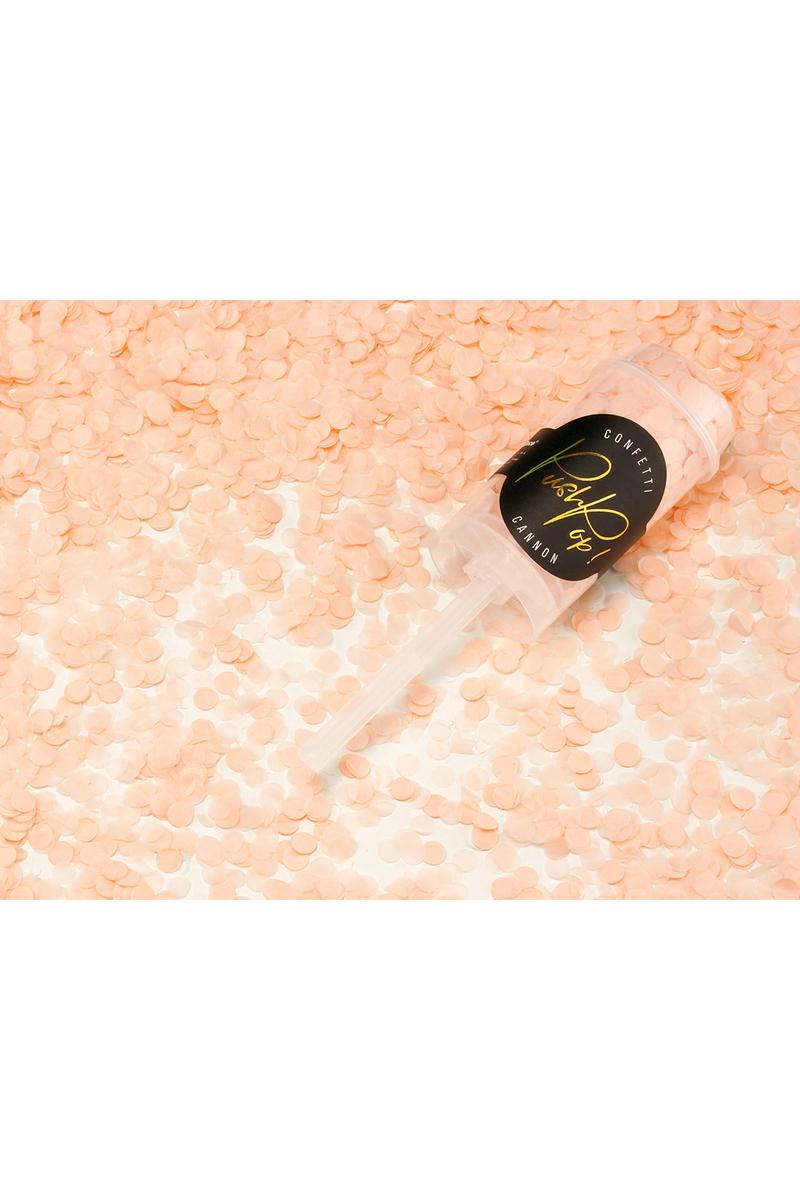 Turuncu Push Pop Mini Parti Konfeti 18cm 1 Adet - Thumbnail