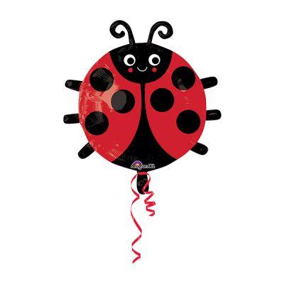Uğur Böceği JuniorShape Folyo Balon 45cm