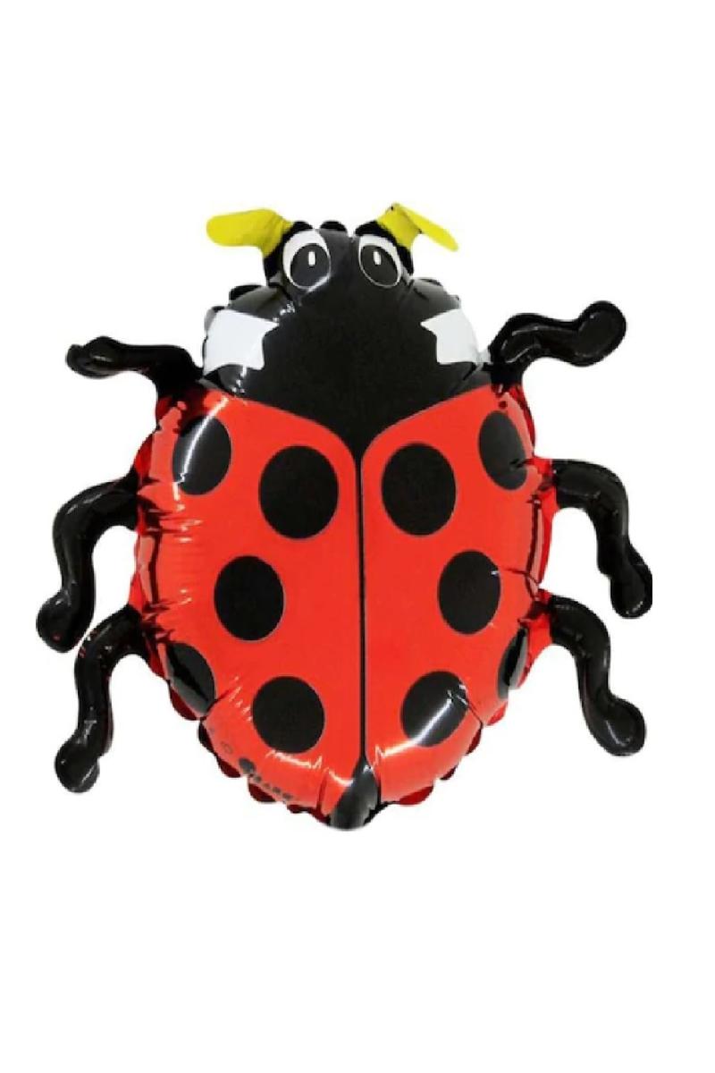 Uğur Böceği MiniShape Folyo Balon 35cm 1 Adet