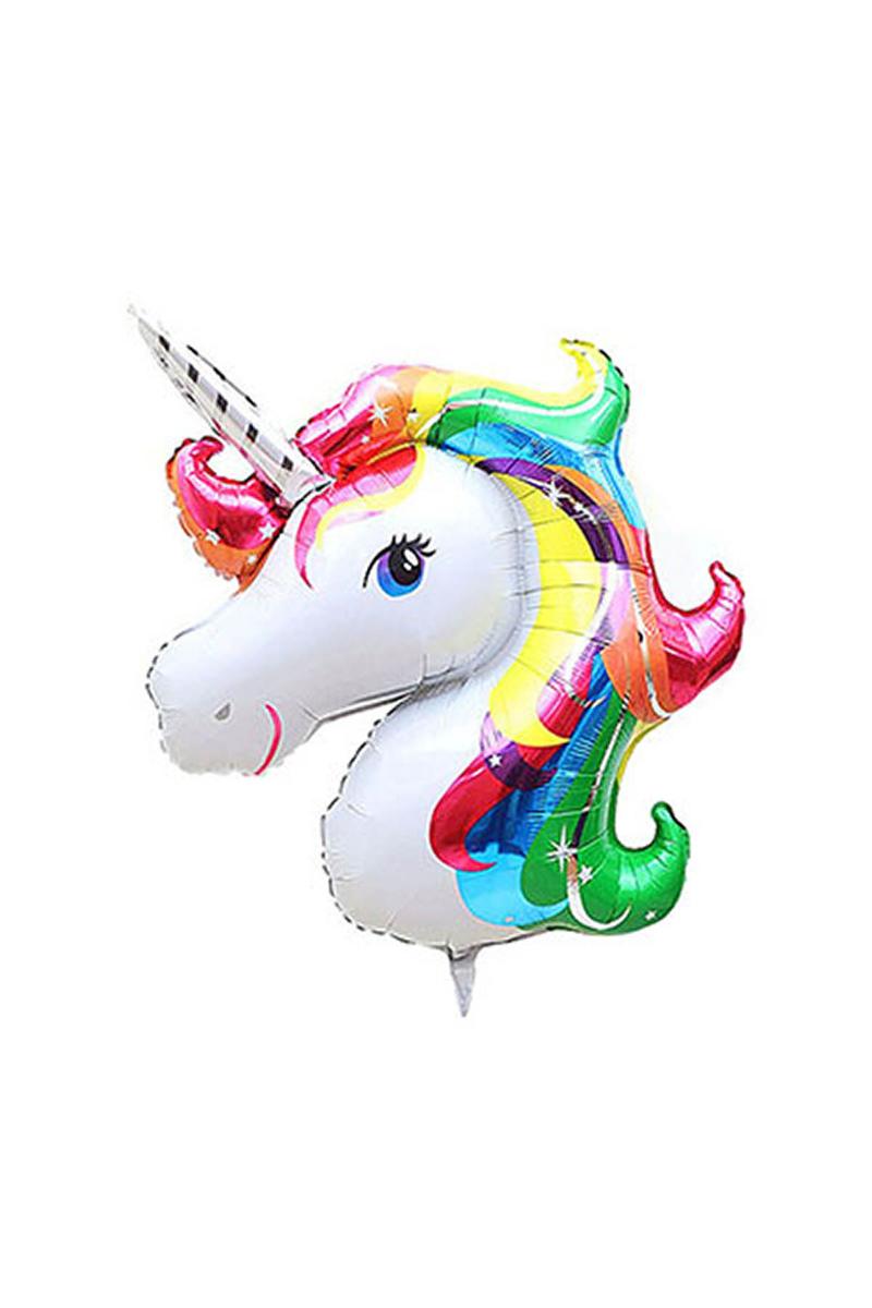 Unicorn Folyo Balon 103cm x 75cm Renkli 1 Adet