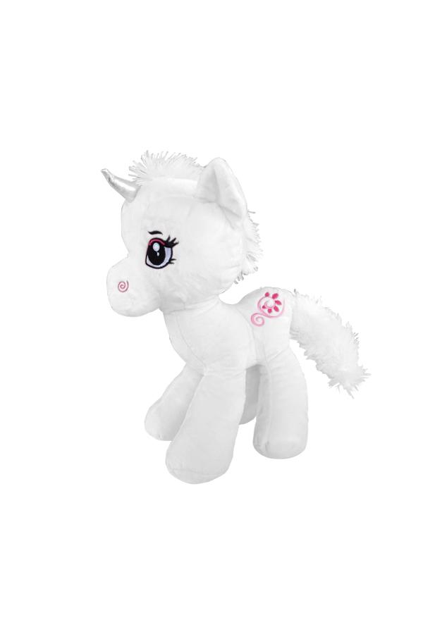 Unicorn Mini Pelüş Oyuncak Beyaz 35cm 1 Adet