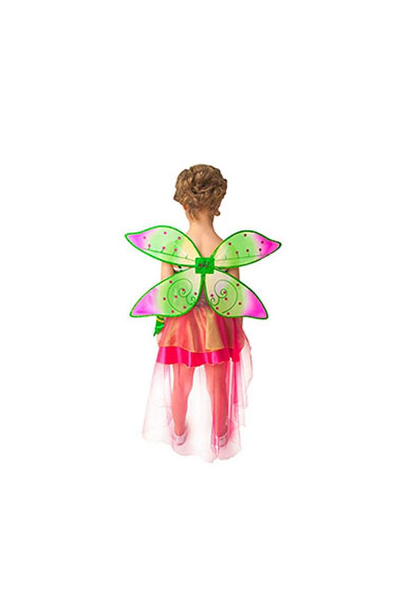 Winx Flora Kostüm 7-9 Yaş 1 Adet - Thumbnail