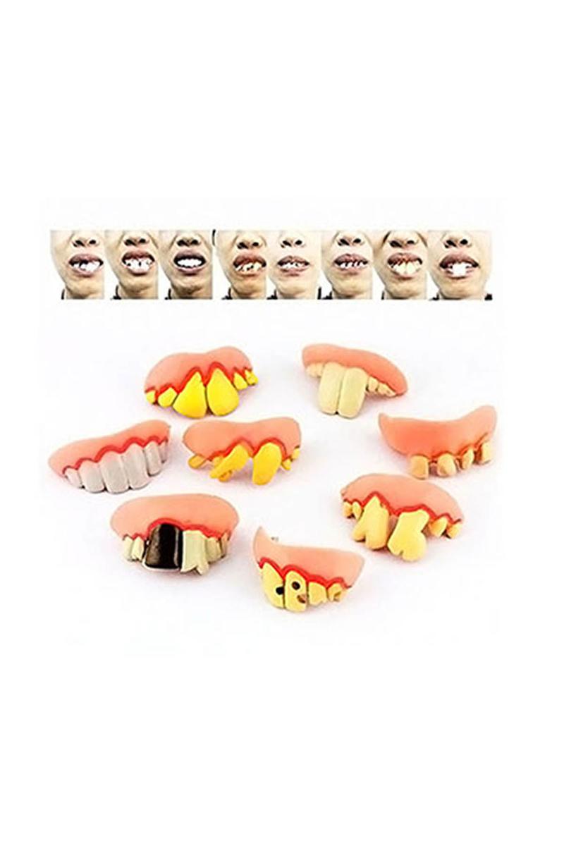 Yamuk Şaka Dişleri 2li