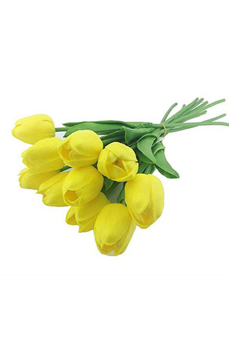 Yapay Çiçek Lale Sarı 30cm 1 Adet