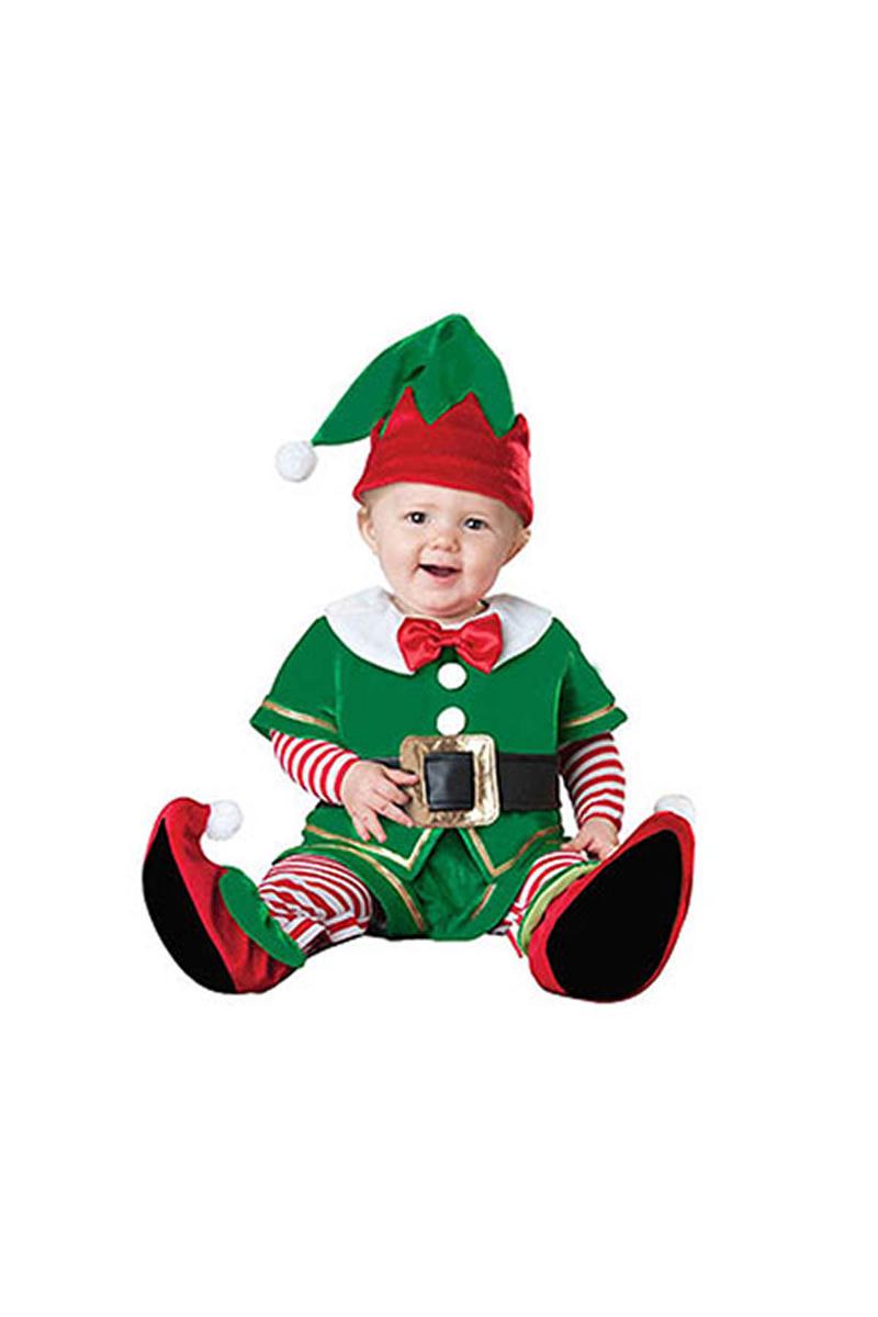 Yılbaşı Bebek Elf Kostümü Lüks 12-18 Ay 1 Adet