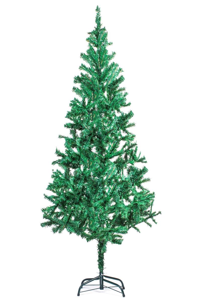 Yılbaşı Çam Ağacı 180cm 450 Dal Metal Ayaklı Yeşil 1 Adet