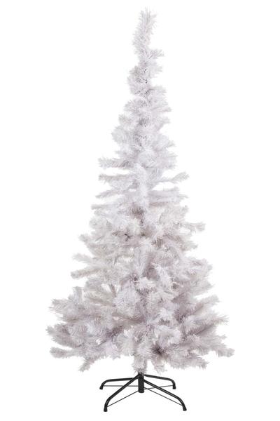 Yılbaşı Lüks Beyaz Çam Ağacı 150cm 175 Dal Demir Ayaklı 1 Adet