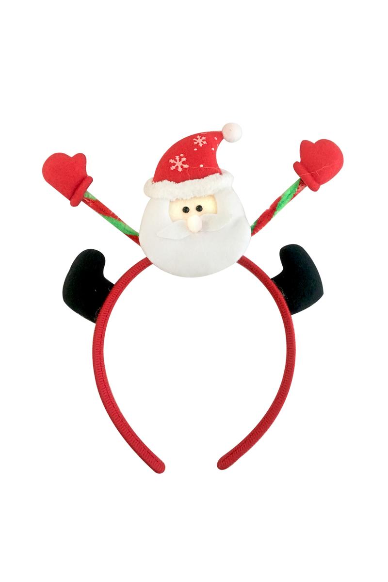 Yılbaşı Noel Baba Ayaklı Taç 1 Adet