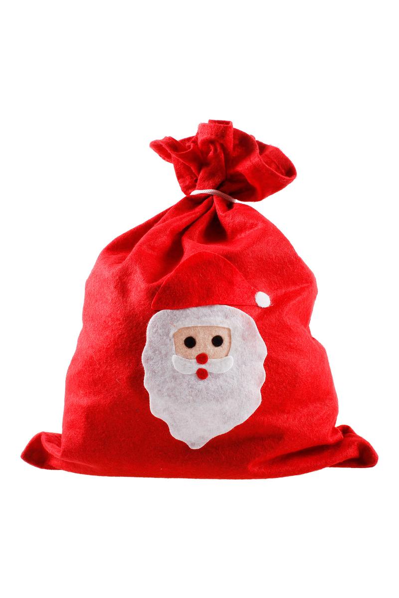 Yılbaşı Noel Baba Hediye Çuvalı 30 x 40cm 1 Adet