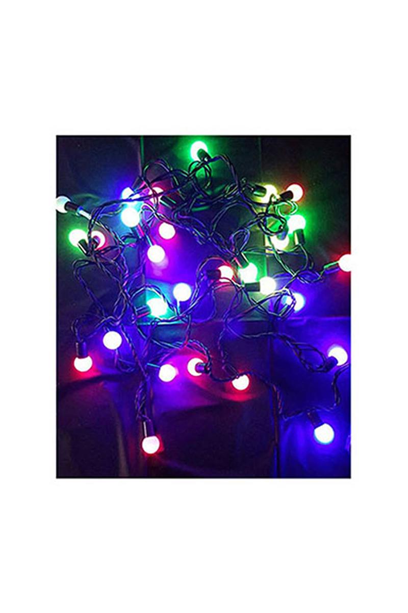 Yılbaşı Top Led Işık 5m 28 Ampül Renkli 1 Adet